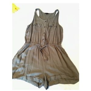 Pants - ARMY GREEN ROMPER